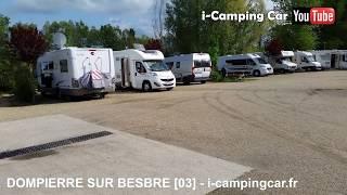 DOMPIERRE SUR BESBRE [03] - Aire pour Camping Cars