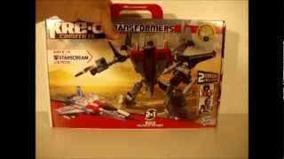 KRE-O STARSCREAM - TRANSFORMERS TOY REVIEW