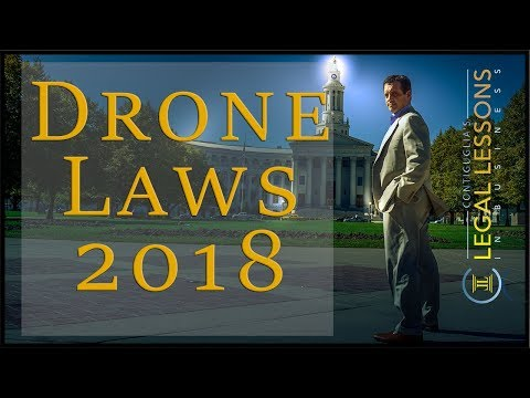 Drone Laws 2018