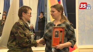 Медальоны погибших воинов вручили их потомкам поисковики череповецкого отряда «Журавли»