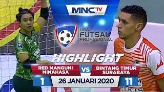 RED MANGUNI MINAHASA VS BINTANG TIMUR SURABAYA (FT: 1-11) - Highlights Liga Futsal Profesional 2020