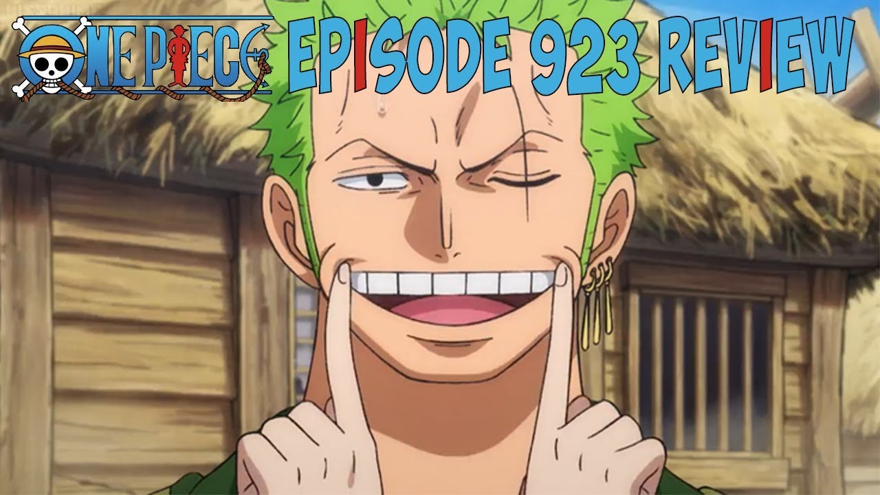 One Piece Episode 923 Review - YouTube