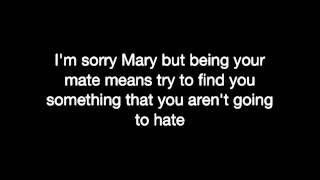Now Mary - The White Stripes (lyrics)