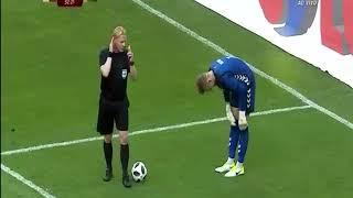 Polonia - Lituania 2-0 - Gol di Lewandoski confermato dal Var