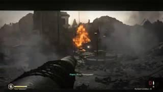 Call of Duty WWII. Прохождение часть 4. ТАНКОВЫЕ БАТАЛИИ. СГОРЕЛ ИЗ ЗА УПРАВЛЕНИЯ ТАНКОМ :)