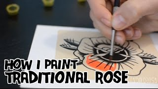 Video How I paint a Traditional Rose / Pintando una Rosa Tradicional download MP3, 3GP, MP4, WEBM, AVI, FLV Juni 2018