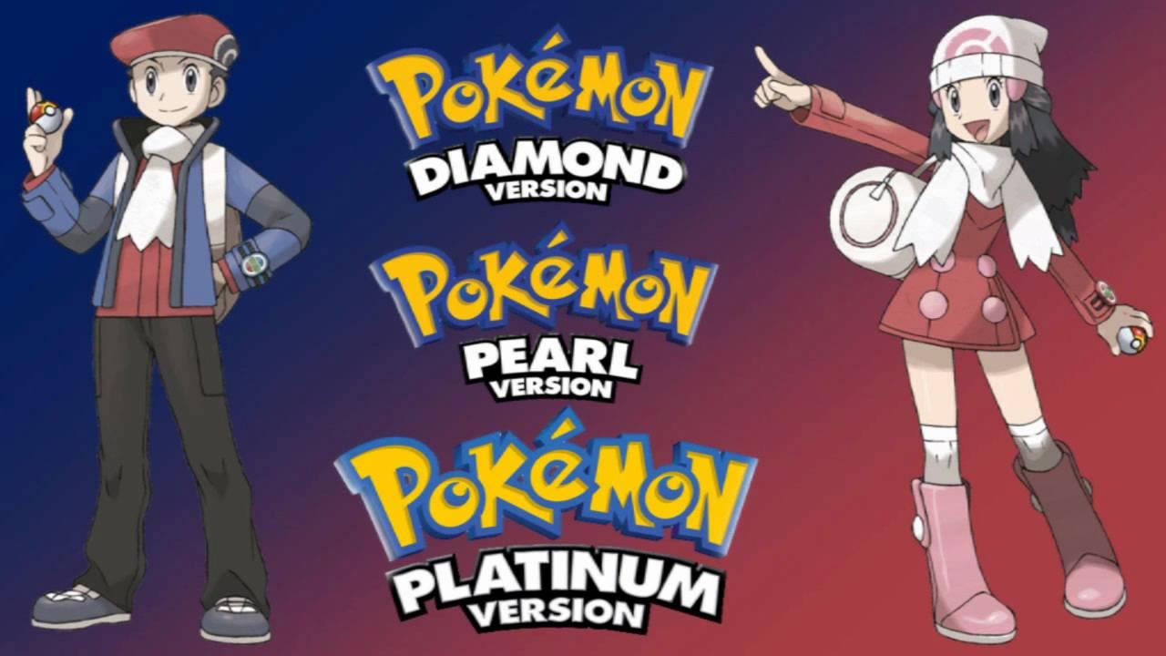 Resultado de imagen para Pokémon Edición Platino / Pokémon Diamante / Pokémon Perla