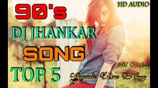90's Evergreen Romantic Songs - JHANKAR BEATS | Romantic Love Songs  | Best Hindi Songs