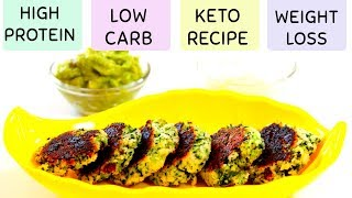 BROCCOLI FRITTERS | LOW CARB INDIAN KETO RECIPE FOR WEIGHT LOSS