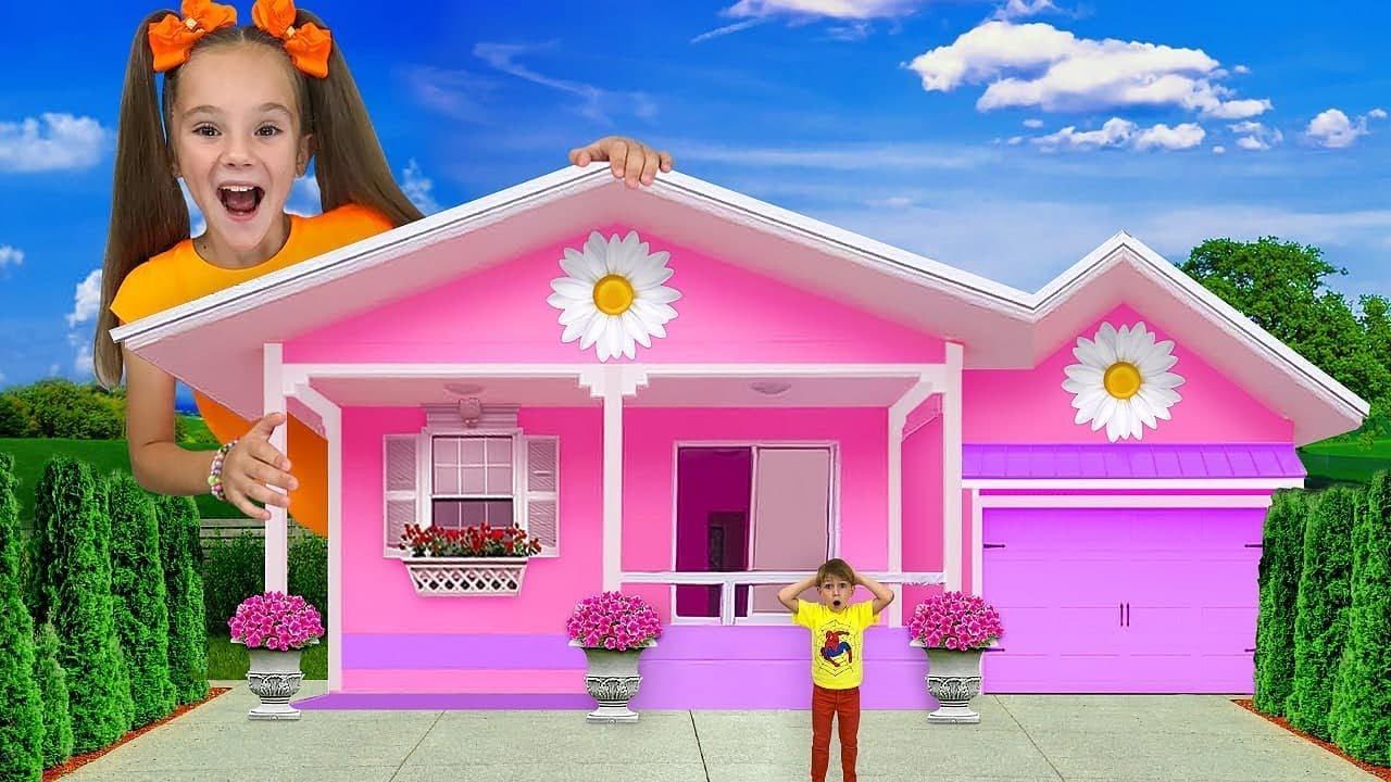 Kira y Yarik quieren convertirse en un niño grande y fuerte   Mejor programa de televisión para papá