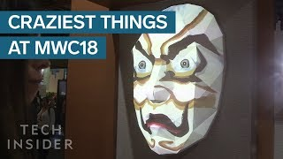 Most Wild Things We Saw At Mobile World Congress 2018