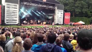 Samy Deluxe & Max Herre - Intro , Einstürzen Neubauen & Poesiealbum @ Soul im Park 29.07.2012