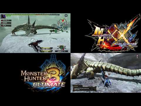 MH DOUBLE CROSS Y MH 3 ULTIMATE  SWITCH VS WII U. COMPARACIÓN GRÁFICA