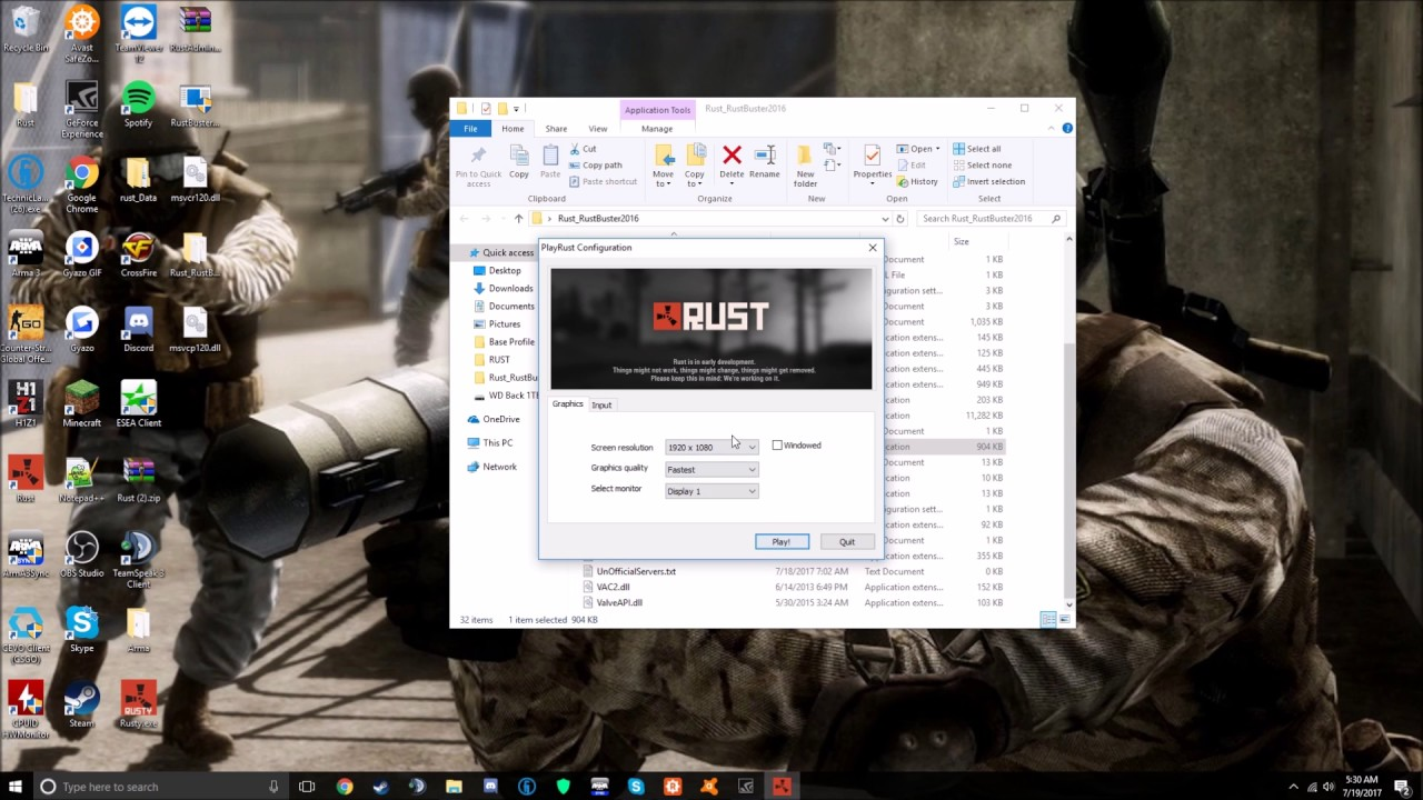 rust buster download