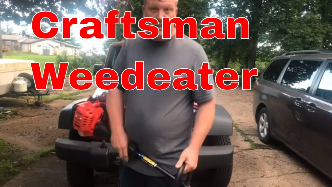 Craftsman Weedwacker Review And How To Put Together
