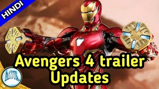 Avengers 4 Trailer release date, Title & Music update by Russian website explained in hindi