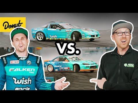 Corvette vs. Nissan S14!   Frenemies EP1