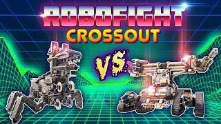 💢 Crossout Robofight: ALPHA-HOUND vs TERMINATOR XL