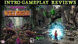 Space Raiders Intro Gameplay Review Gamecube HD