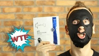 WTF Korea - 4D Black Face Mask(Yep. A mask...for blackface. It's whitening. Um...no comment. Subscribe for more Videos!, 2013-08-31T04:51:02.000Z)