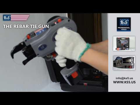 Rebar Tie Gun Ks5 - New Professional System