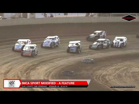 Sport Modified Feature - Clay County Speedway - 8/12/18