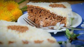 """ТОРТ """"Чародей"""" НА КЕФИРЕ: Простой торт на кефире рецепт: Простой торт в домашних условиях"""