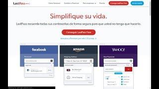 LastPass - El mejor gestor de contraseña gratuito online