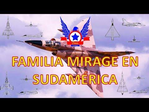 Familia Mirage en Sudamérica