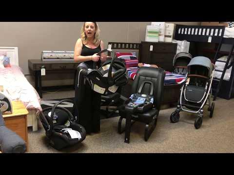 Agio Nido 4-35 Infant Car Seat Anti-Rebound Demo
