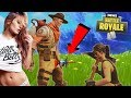 FORTNITE: AFTER DARK - DATE WITH GIRL ON FORTNITE GOES FAR (Real Life Tinder Date on Fortnite)