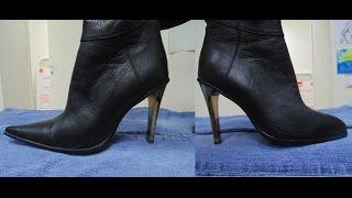 Изменение формы носка обуви - мастерская Туфелька