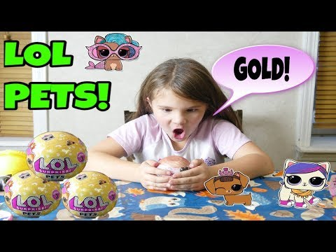 LOL Surprise Pets! Hunt For Gold Ball!