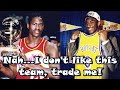 5 NBA Players Who REFUSED To Play For The Teams That Drafted Them!