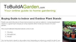 Ideas To Build A Tiered Plant Stand Outdoors