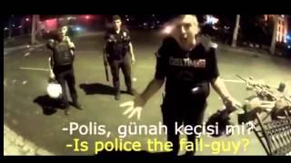 Polis: Ne yapayım osurayım mı ? / Gezi Parkı Olayları