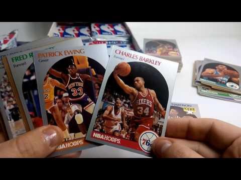 NBA Hoops 1990-91 Box Opening