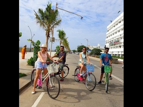 Pondi Cycle Tour Vlog| TSC's Pondicherry Holiday
