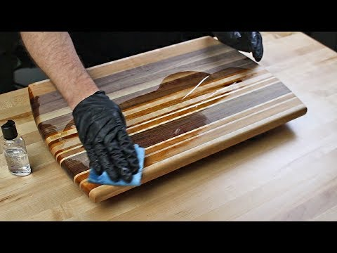 How to Make a Simple & Beautiful Hardwood Cutting Board