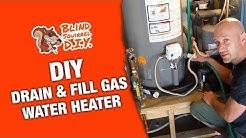DIY Drain & Fill Gas Water Heater