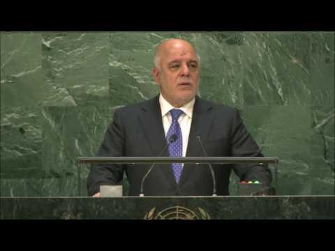Haider al-Abadi-  Iraq-  2016 71st UN General Assembly