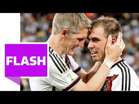 Bastian Schweinsteiger über Philipp Lahm und ihr 1. Spiel (Interview Teil 2/2)