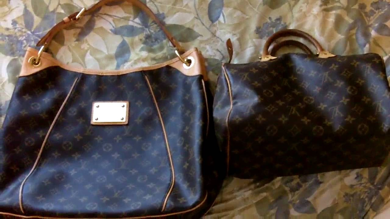9ee469289539 Galliera PM Louis Vuitton Purse Handbag authentic review - YouTube