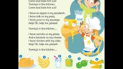 English song for children: Tommy is in the kitchen