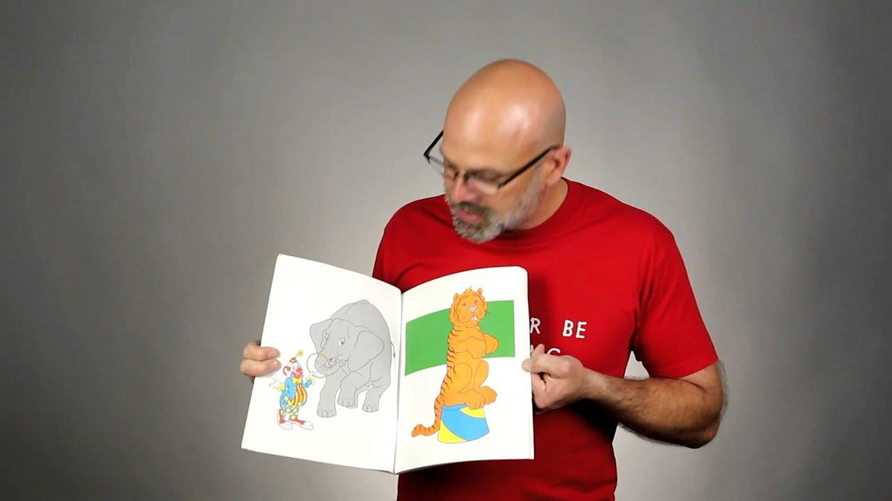 The Magic Coloring Book | Video Tutorial || ClownAntics.com - YouTube