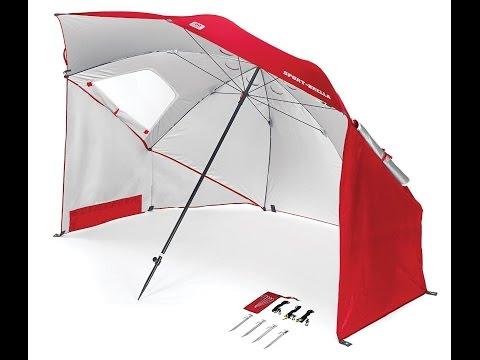 Review: Sport-Brella Umbrella - Portable Sun and Weather Shelter
