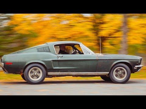 Steve McQueen's Original 1968 Ford Mustang Bullitt Driving Video Ford Mustang Bullitt Interior
