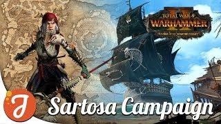 [EARLY ACCESS] Sartosa #1 | Vampire Coast Campaign | Total War: WARHAMMER II