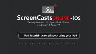 iPad Tutorial - Learn all about using your iPad (Original Version)