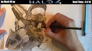 comment dessiner halo 4